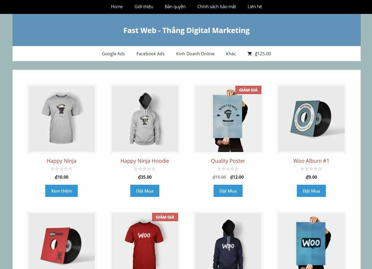 demo fast web